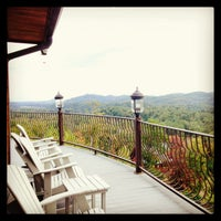 Photo taken at Bluff Mountain by Lisa H. on 10/26/2013
