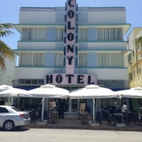 Photo taken at Colony Hotel by Andrew B. on 6/10/2013