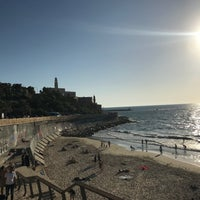 Photo taken at Yaffo Beach by C D. on 6/19/2018