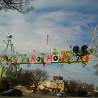 Photo taken at NoHo Sign by Cynthia H. on 3/3/2013