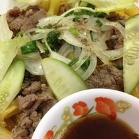 Photo taken at Duong Minh Chau Beefsteak by Long N. on 11/20/2012