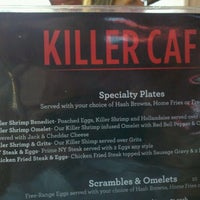Photo taken at Killer Cafe by Chefwaiterhater on 9/30/2012