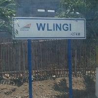 Photo taken at Stasiun Wlingi by baang b. on 10/12/2013