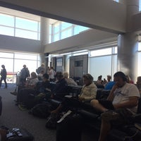 Photo taken at Gate A27 by Christopher A. on 5/22/2016