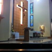 Photo taken at Gereja Kristus Salvator by Carlos C. on 7/13/2013