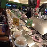 Photo taken at Kura Sushi by Chuck B. on 2/10/2013
