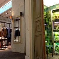 Photo taken at HUGO Store by Marat D. on 2/22/2014