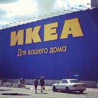 Снимок сделан в ИКЕА пользователем Dmitriy B. 6/15/2013