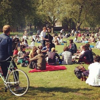 Photo taken at London Fields by Peter M. on 5/27/2013