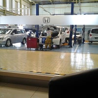 Photo taken at Honda LPPM by Risal H. on 9/29/2012
