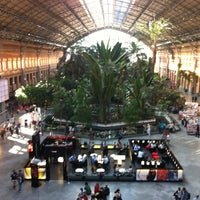 Photo taken at Madrid-Puerta de Atocha Railway Station by Vicente S. on 5/23/2013