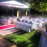 Photo taken at La Quinta de Jarama by David P. on 7/27/2013
