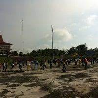 Photo taken at Lapangan Upacara Kantor Bupati by Evan L. on 12/6/2012