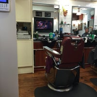 Photo taken at Clinton Street Barbershop by Paul 🐙 C. on 10/18/2016