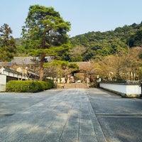 Photo taken at 永観堂 禅林寺 阿弥陀堂(本堂) by Aya Y. on 3/29/2018