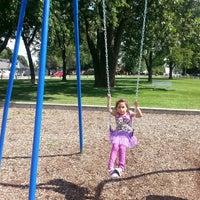 Photo taken at Westdale Park by Dulce V. on 8/1/2013