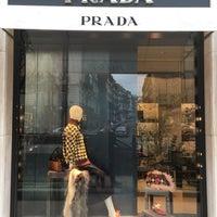 Photo taken at Prada by Stanley L. on 3/19/2017