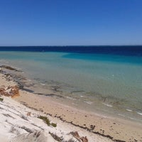 Photo taken at Ningaloo Coral Bay Beach by Michael on 4/2/2014