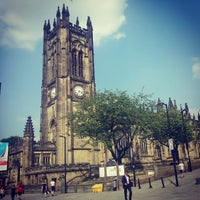 Photo taken at Manchester Cathedral by Ardan V. on 7/18/2013