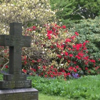 Photo taken at Tynemouth Cemetery by Sue J. on 5/21/2013