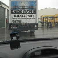 Photo taken at Iron Gate Storage by Portland Movers Ready on 10/12/2012
