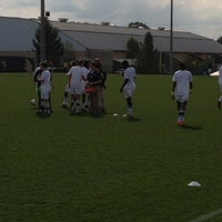 Photo taken at Dick Dlesk Soccer Stadium by Ben E. on 10/14/2012