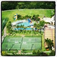 Photo taken at Bourbon Atibaia Convention & Spa Resort by Fabio L. on 2/16/2013