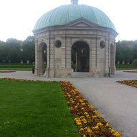 Photo taken at Hofgarten by Stephen H. on 5/2/2014