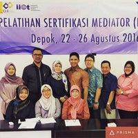 Photo taken at Halte Bikun FH by daniel s. on 8/24/2016
