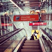 Photo taken at S Flughafen München by Elliot W. on 3/30/2013