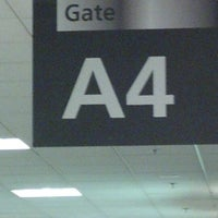 Photo taken at Gate A3 by Sam W. on 9/30/2012