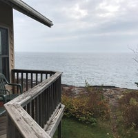 Photo taken at Castle Haven Cabins by David N. on 10/15/2016