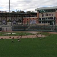 Photo taken at Helfaer Field by Marty Y. on 10/6/2012