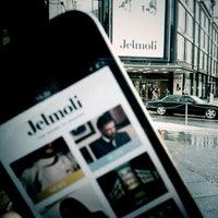 Photo taken at Jelmoli by Matthias A. on 1/18/2013