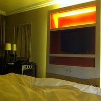 Photo taken at Sheraton Bratislava Hotel by Abu faisal on 7/6/2013
