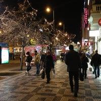 Photo taken at Můstek by Di L. on 12/31/2012