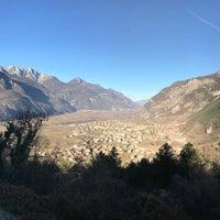 Photo taken at Castel Beseno by Adriano L. on 12/18/2016