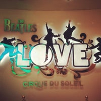 Photo taken at The Beatles LOVE (Cirque Du Soleil) by Carol P. on 4/27/2013