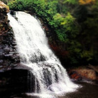 Photo taken at Swallow Falls State Park by Joy A. on 10/19/2013