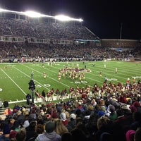 Photo taken at Alumni Stadium by Mike S. on 11/11/2012