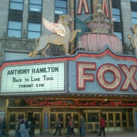 Photo taken at Fox Theatre by Ugunda S. on 9/28/2012