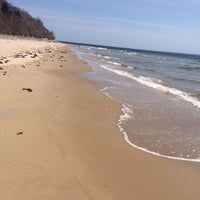 Photo taken at Sandy Point Plum Island Reservation by Nicole S. on 4/14/2014