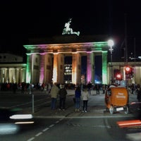 Photo taken at Pariser Platz by Tom L. on 10/19/2012