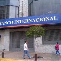 Photo taken at Banco Internacional by Cesar E. on 6/15/2013