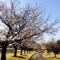 Photo taken at 常願寺川公園 by tee tea on 4/7/2014