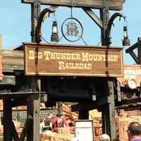 Photo taken at Big Thunder Mountain Railroad by Lee D. on 2/27/2013