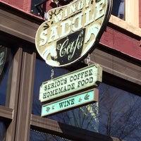 Photo taken at Windy Saddle Café by R R. on 4/18/2014