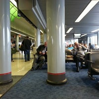 Photo taken at Terminal 3 by Michael T. on 4/18/2013