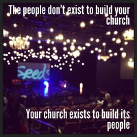 Photo taken at Church on the Move by Luke T. on 3/8/2013