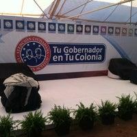Photo taken at Tu Gobernador en Tu Colonia: Col. Aves del Castillo, Cajeme, Sonora. by Jorge V. on 5/29/2013